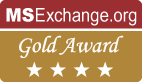 MSExchange.org Gold Award