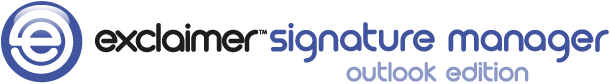Signature Manager Outlook Edition