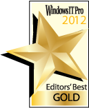 Logo des Windows IT Pro 2012 Award