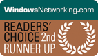 WindowsNetworking.com Readers' Choice 2nd Runner up